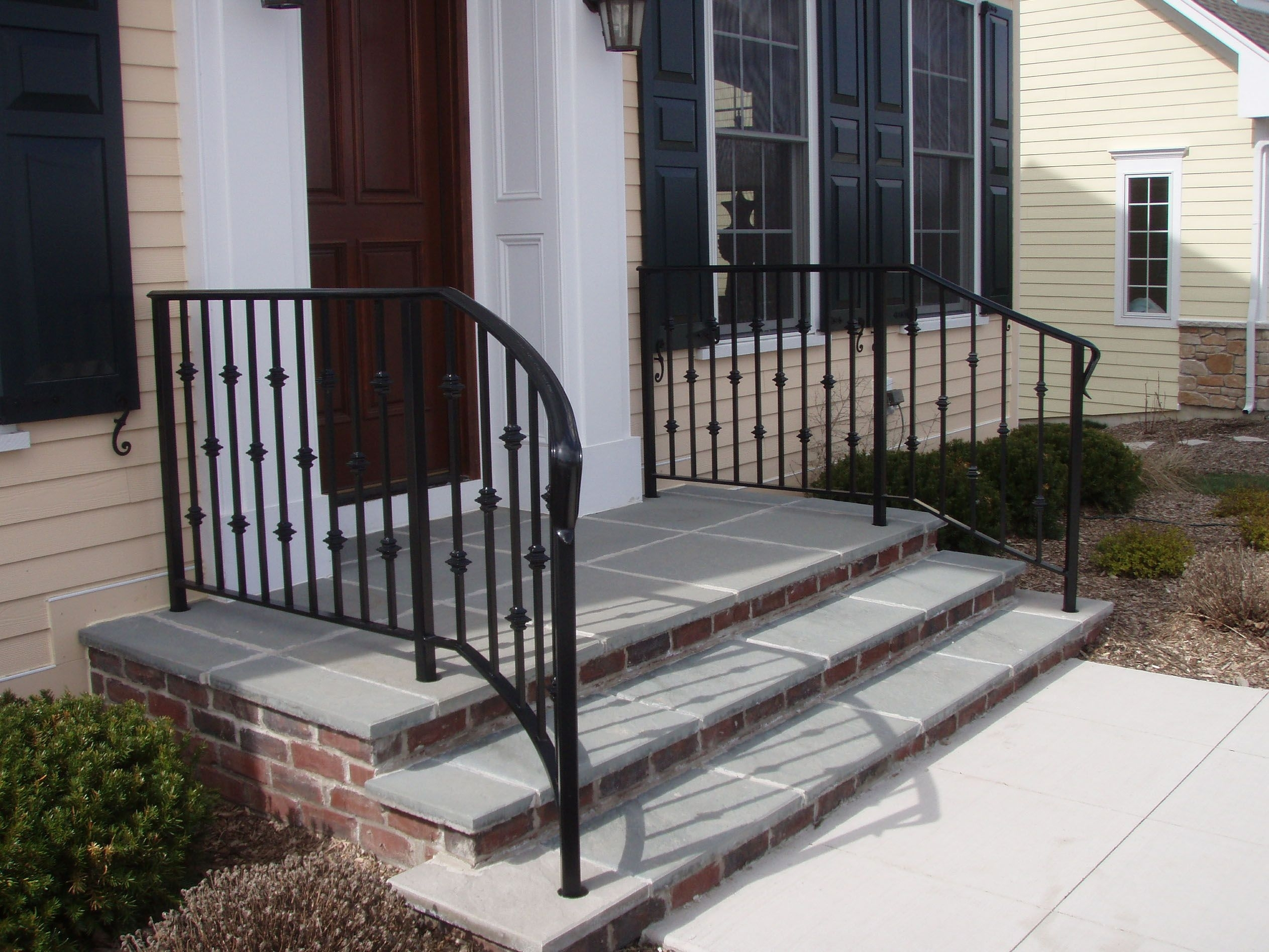 Wrought Iron Handrails For Porch Steps